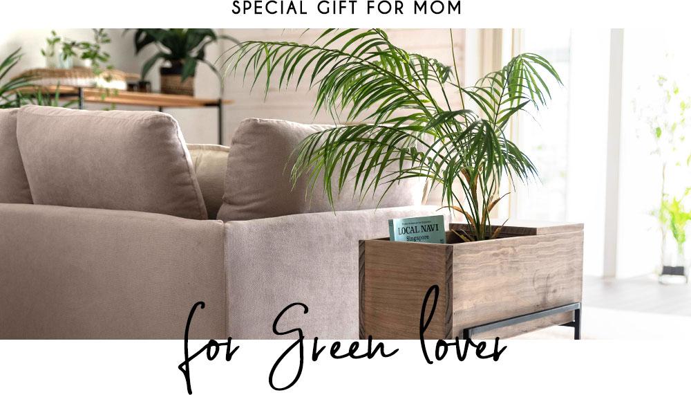 植物好きなお母さん。ガーデニング。プランター。グリーン。母の日ギフト