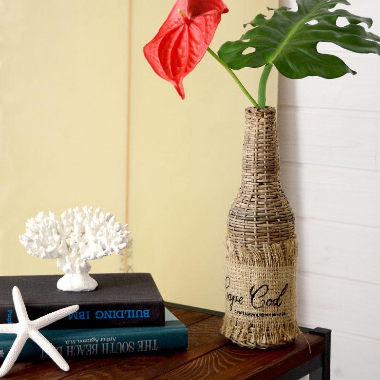 花瓶 フラワーベース 一輪挿し ボトル