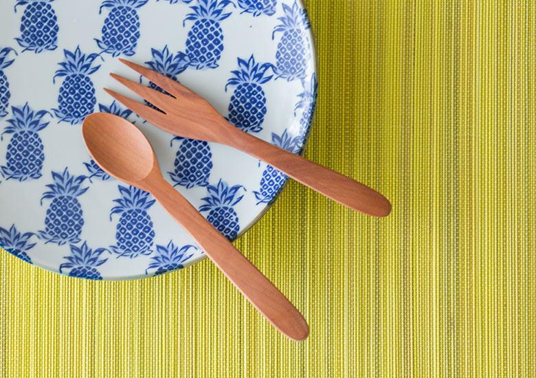 カトラリー フォーク スプーン ナイフ テーブルウェア ナチュラル