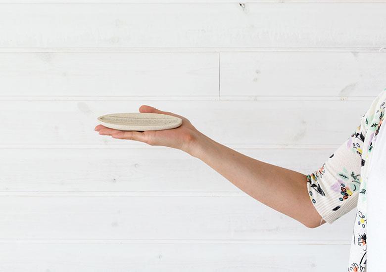 お香スタンド インセンストレイ インセンスホルダー トレイ 香皿 受け皿  線香 アロマ サーフボート ビーチハウス マリン ビーチ