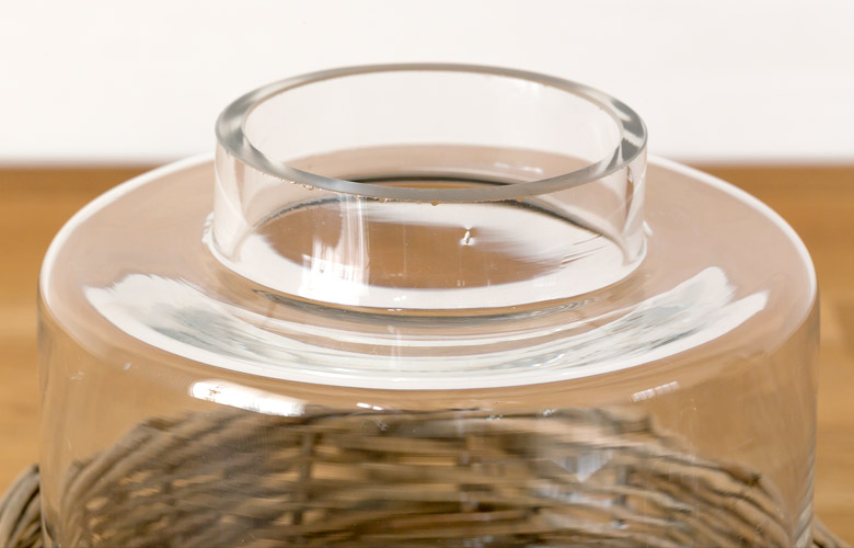 ガラス キャニスター ディスプレイケース テラリウム エアプランツ 観葉植物 ガラスケース 小物入れ ディスプレイ雑貨 インテリア雑貨