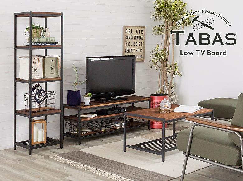 テレビ台はもちろん、棚として、作業台として。