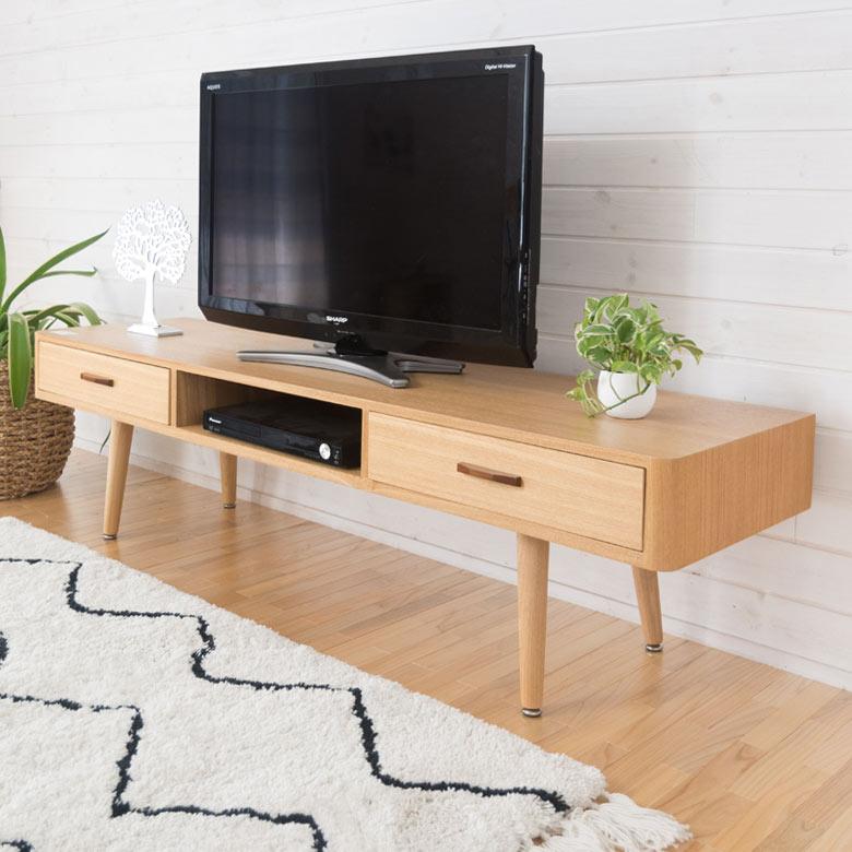 天然木アッシュのテレビボード