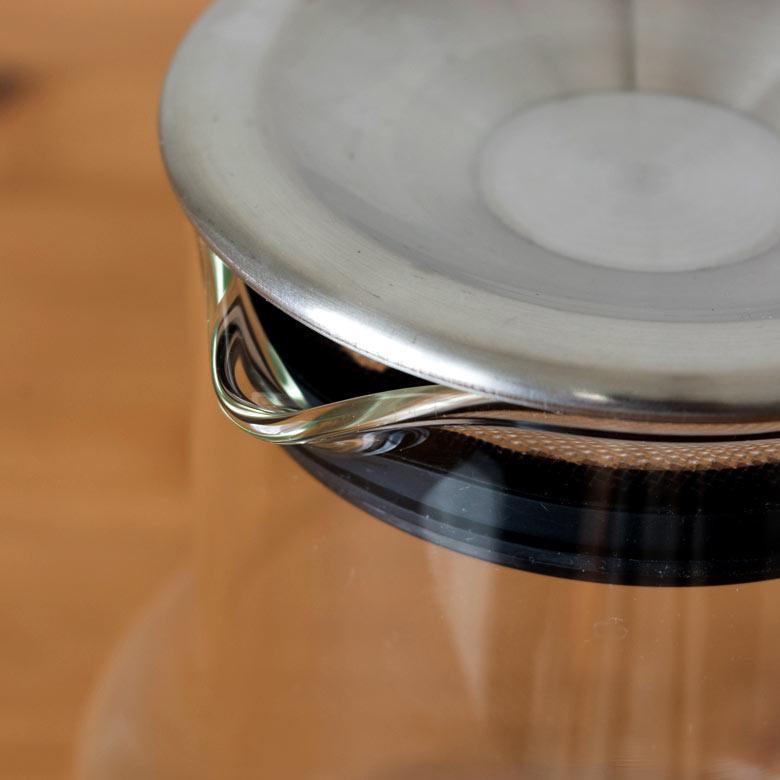 耐熱ガラスのカップは電子レンジもOK!
