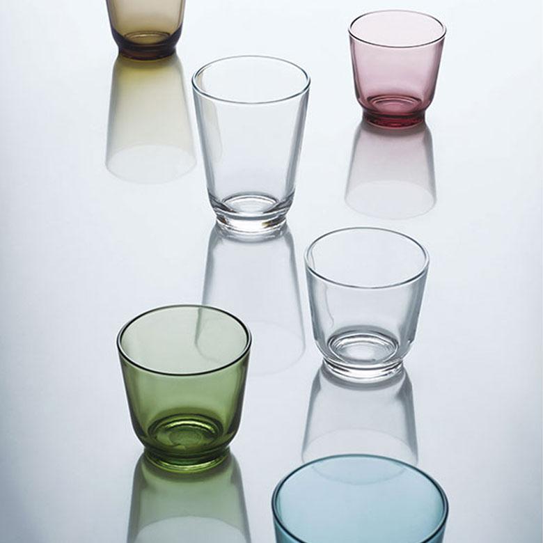 ソーダガラス製コップ