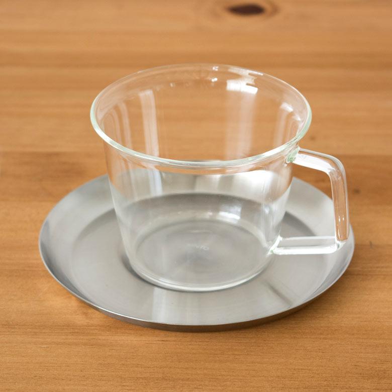 コーヒーカップ&ソーサ—[ステンレス]