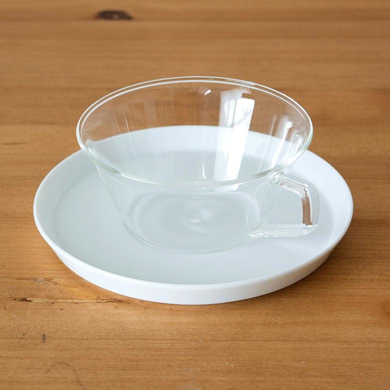 ティーカップ&ソーサ—セット[磁器タイプ]