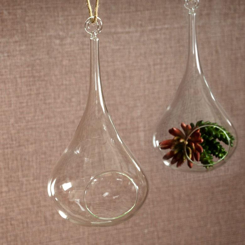 吊るして飾る、ガラスケース