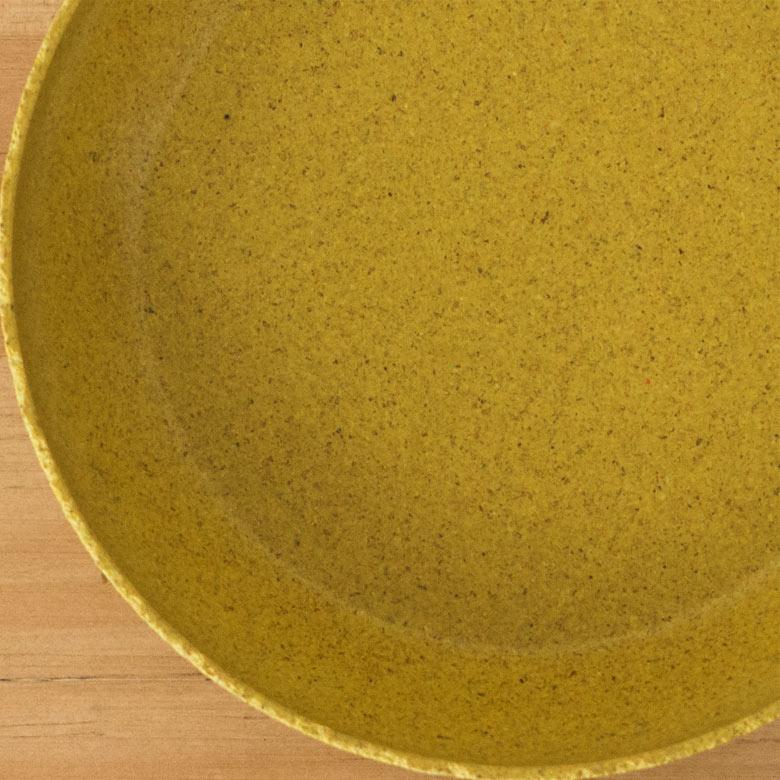 米外皮のもみ殻を原料とした、生分解性の素材アップ