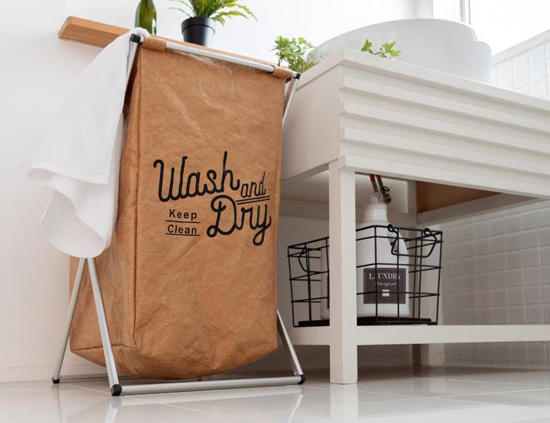 洗面所はもちろん、リビングなどのマルチ収納にも便利です。