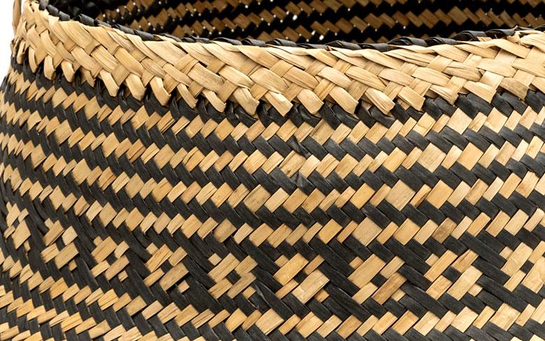 温かみのある美しい編み目