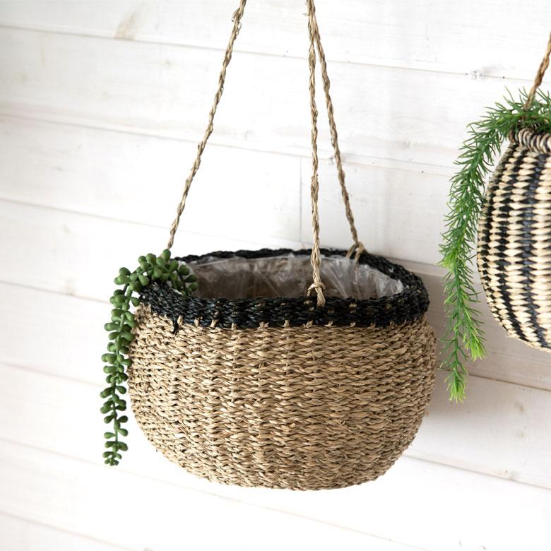 吊るすタイプの鉢