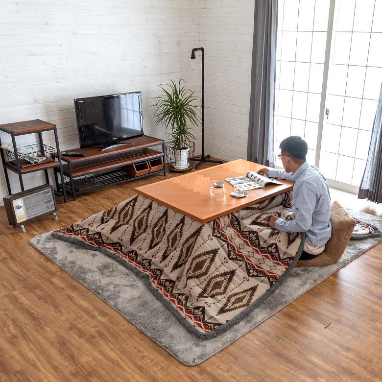 80×120cm以下の天板と一緒に使えるサイズです