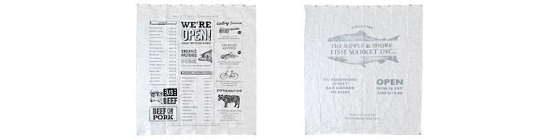 趣の異なる、アメリカデザインのシャワーカーテン2タイプ