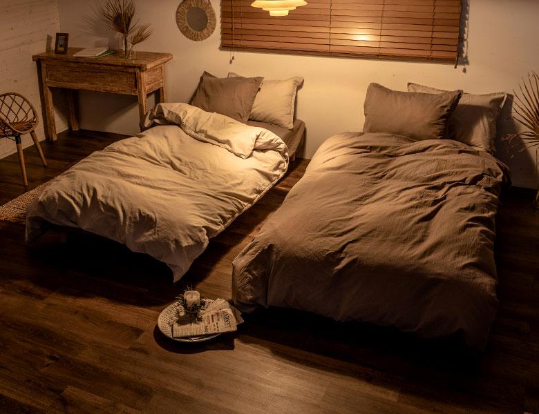 どんな時間でもくつろげる、癒しの寝室づくり
