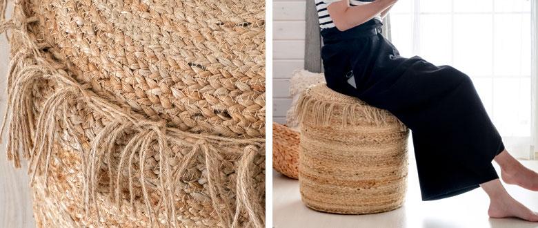 ぎっしりと詰まった美しい編み目が魅力的