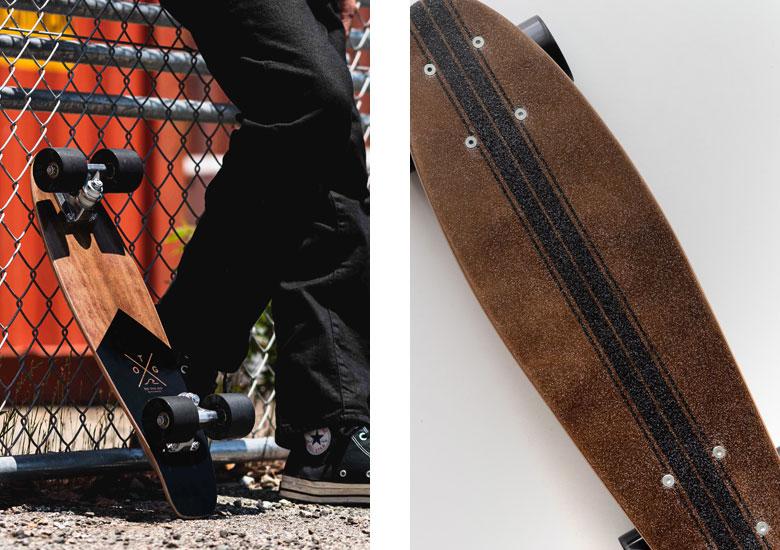 気軽に使える、コンパクトなスケートボード