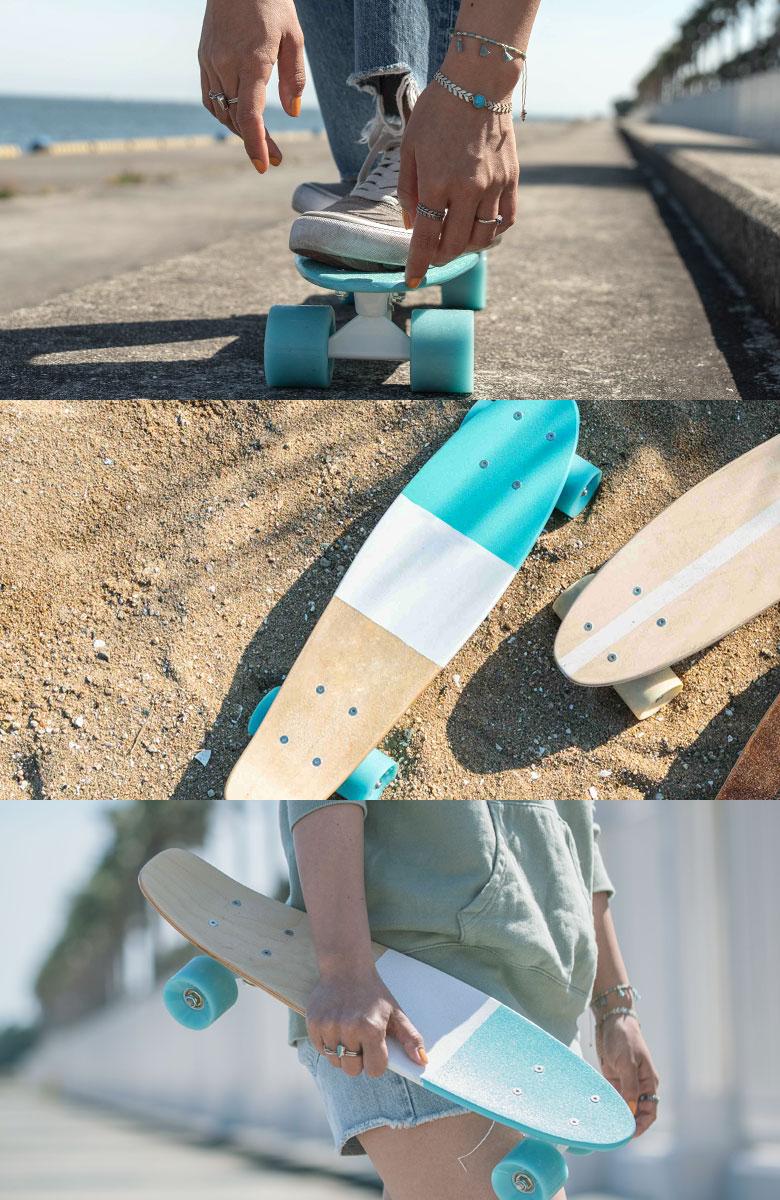 当店オリジナルのスケートボードシリーズ
