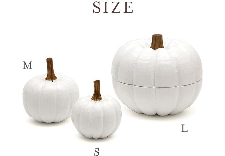 S・M・Lの3サイズ展開。大きさ違いで揃えて飾ってみて。