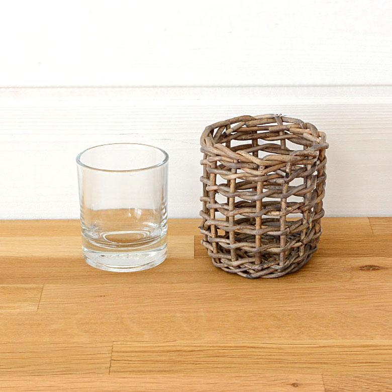 ガラス部分は取り外せるので別々に使うこともでき、お手入れも簡単です。
