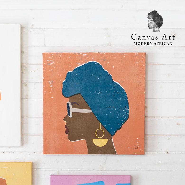 カジュアルな壁掛けキャンバスアート