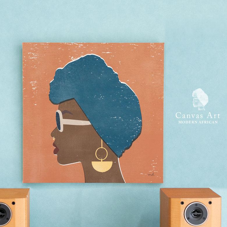 アートパネル。女性。壁掛けキャンバスアート。