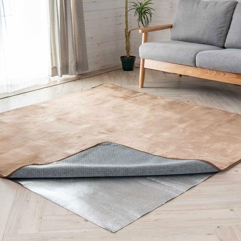 床からの冷気を軽減することができます