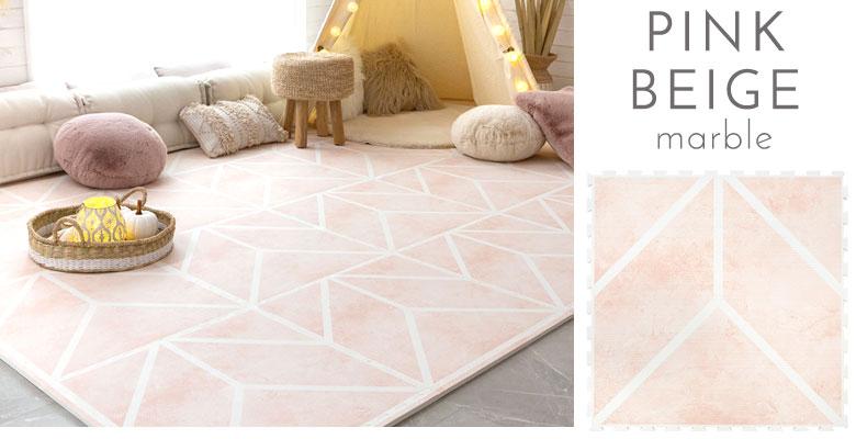 マーブル柄ピンクベージュ。大理石調ピンクベージュ。marble pink beige