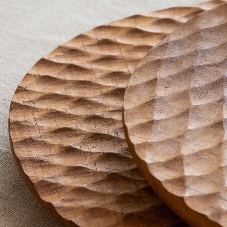 独特の削り痕を残す名栗加工