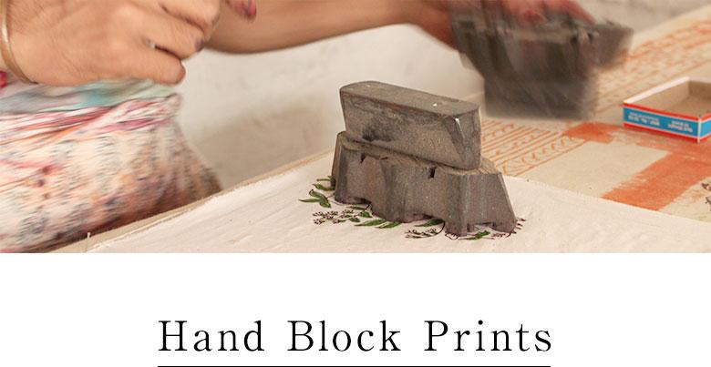 ブロックプリントの魅力。
