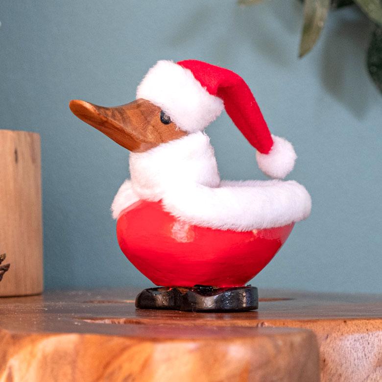 木彫り サンタクロース