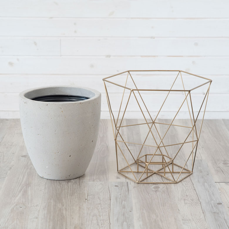 鉢とワイヤーは分離できます