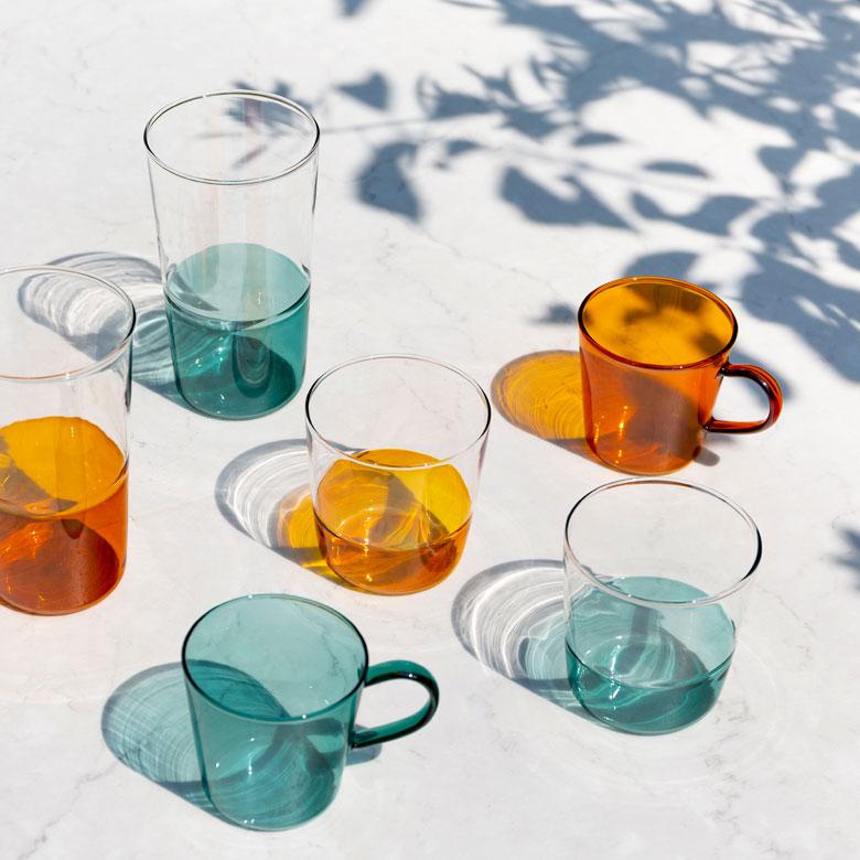 カラーリングGLASS グラス[アンバー/ブルー]