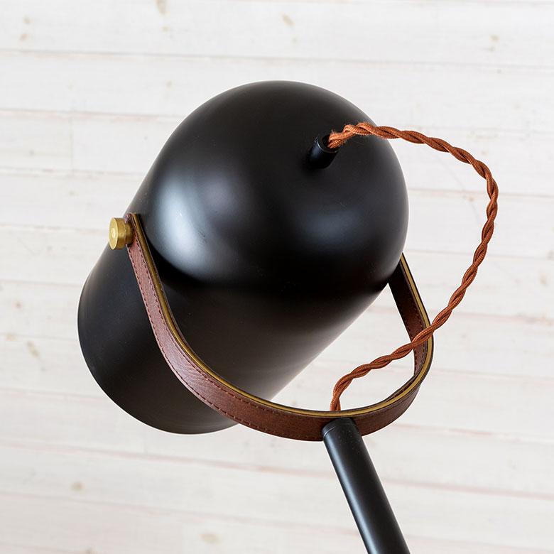 おしゃれ空間を演出する エジソン電球付き スタンドライト