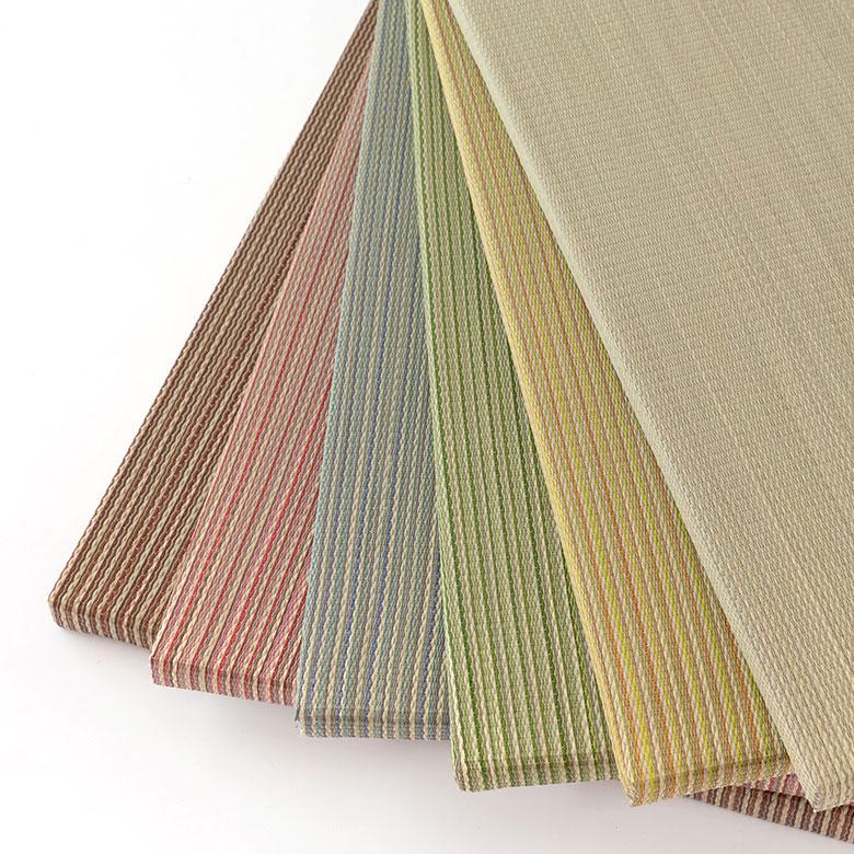 めせき織りのフチなし畳