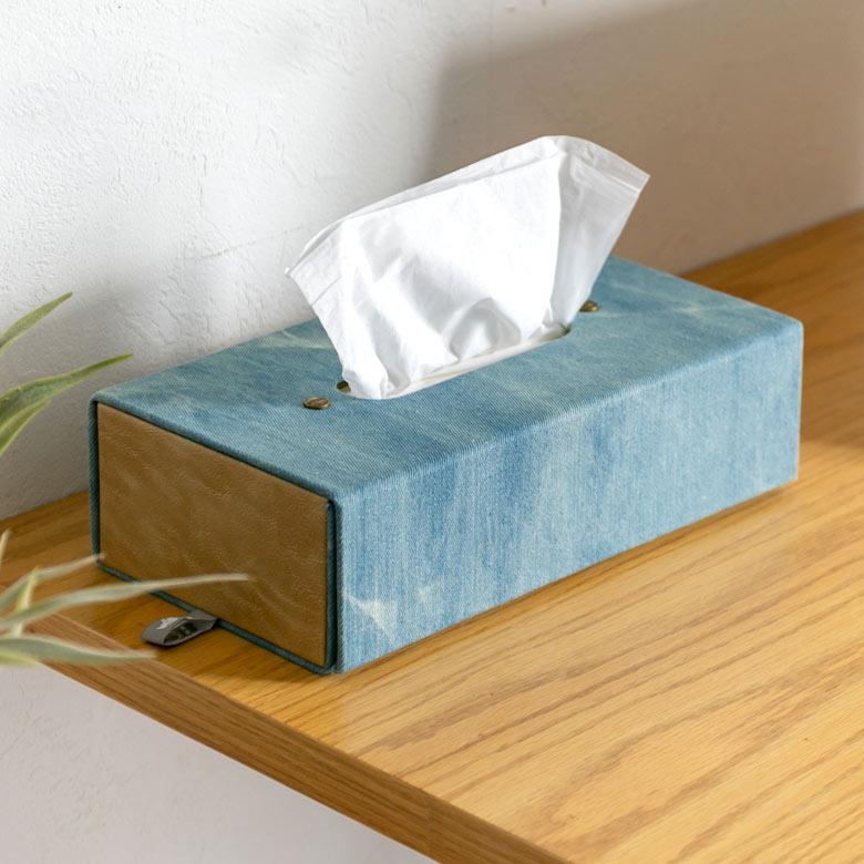 折り畳み式ティッシュボックス