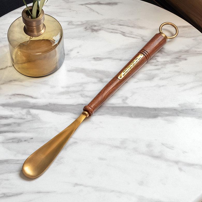 真鍮のシューホーン