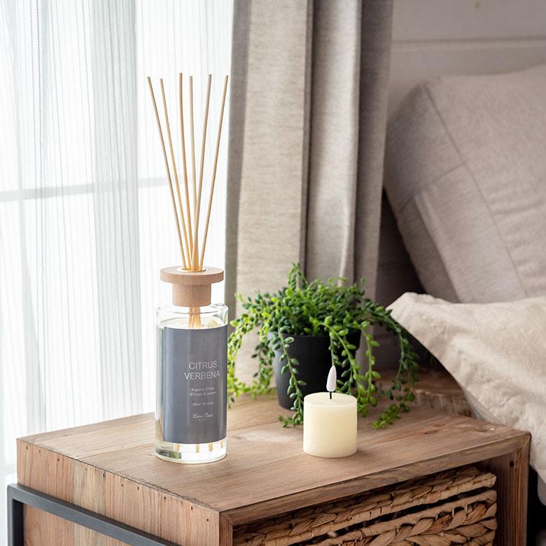 柔らかな香りで、お部屋をもっと好きになる