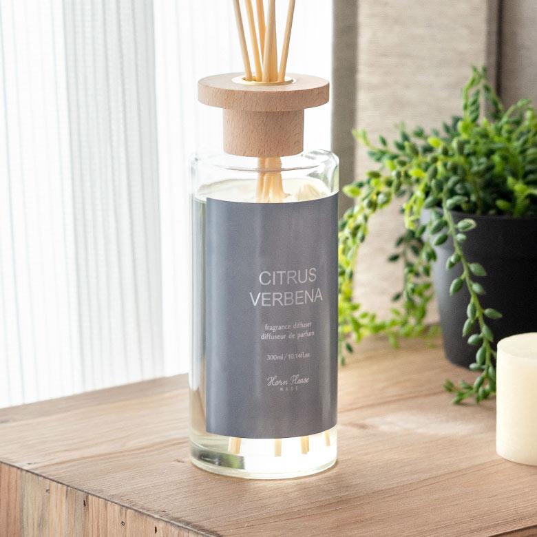 フルーティーな香りが魅力的なシトラスヴァーベナの香り